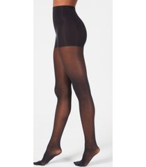 dkny women's comfort luxe semi opaque control top tights