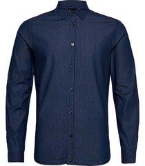 clean denim tailor shirt skjorta casual blå scotch & soda