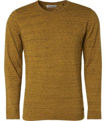no excess pullover crewneck melange gold