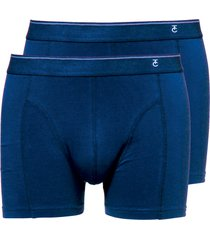 ten cate tender cotton boxershort 2-pak navy