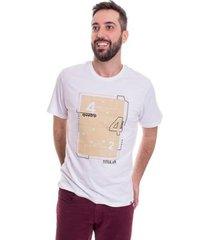 camiseta 4-4-2 esquema tático masculina
