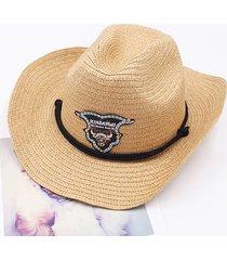 cappello da cowboy di fedoras retro unisex di western cowboy jazz cap degli uomini
