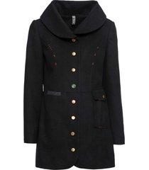 cappotto corto (nero) - rainbow