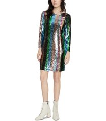 sanctuary over the rainbow sequin dress