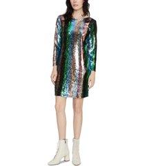sanctuary over the rainbow sequin dress