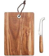 deska do serów z nożem cheddy