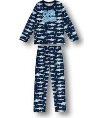 pijama marisol azul
