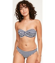 drift away twist bandeau bikini top