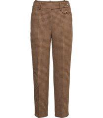 coppola pants pantalon met rechte pijpen bruin lovechild 1979