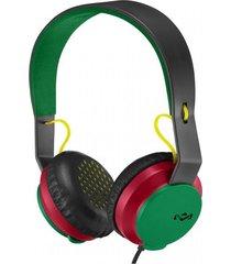 audifinos / auriculares roar con diadema - rasta