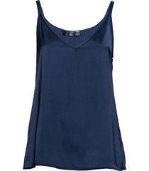 top in satin (blu) - bpc selection premium