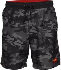 hmlevan board shorts surfshorts svart hummel