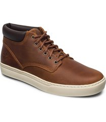 adventure 2.0 cupsole chukka shoes business laced shoes brun timberland