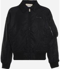 1017 alyx 9sm nylon jacket with embossed logo