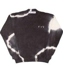 off-white tie dye sweater