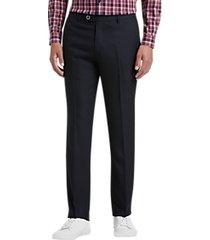 paisley & gray slim fit suit separates dress pants black & gray dot
