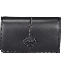 tods trifold logo wallet