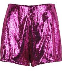 philosophy philosophy sequin embellished shorts
