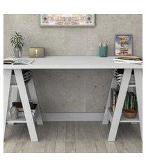 mesa escrivaninha self branco appunto móveis