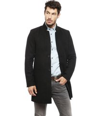 abrigo only & sons maximilian negro - calce regular