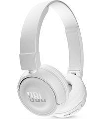 audífono jbl t450bt bluetooth on ear - blanco