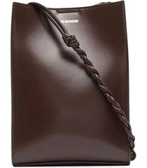 small tangle shoulder bag, medium brown