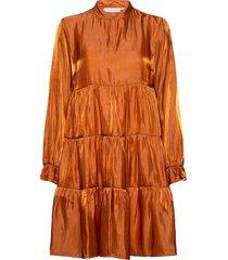 pangkb dress kort klänning orange karen by simonsen
