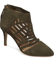 spider shoes boots ankle boots ankle boots with heel svart sargossa