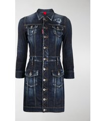 dsquared2 denim short dress
