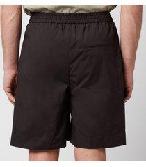 tom wood men's capital shorts - pitch black - l