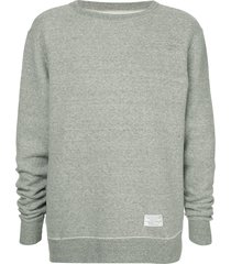 makavelic soft warm sweatshirt - grey