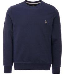 ps by paul smith zebra logo sweatshirt - blue m2r-027rz-b20075