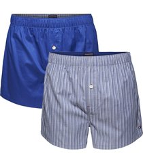 tommy hilfiger boxers wijd 2pak streep-blauw
