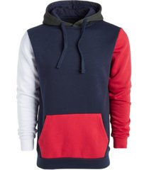 american stitch men's colorblocked pullover hoodie