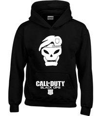 buzo estampado call of duty con capota saco hoodies gamers