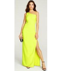 laundry by shelli segal luxe stretch crepe gown
