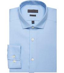 calvin klein blue ice tonal stripe slim fit dress shirt