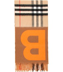 burberry mu b giant check scarf