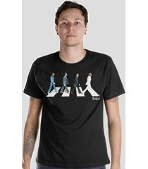camiseta bandup! the beatles abbey
