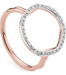 women's monica vinader riva circle diamond ring