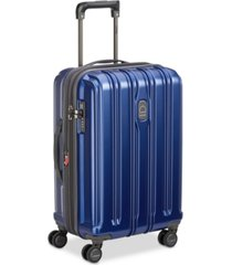 """delsey connectech 21"""" spinner expandable carry-on suitcase, created for macy's"""