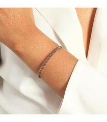 bracelete de bolinhas lisas - feminino