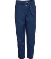 tencel paper bag pant casual broek blauw calvin klein