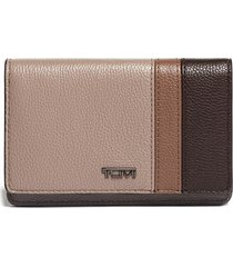 tumi belden leather wallet in dusk spectator at nordstrom