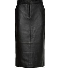 2nd varity knälång kjol svart 2ndday