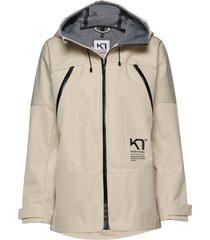 bavallen jacket parka lange jas jas beige kari traa