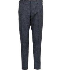 pt01 rebel grey pants in wool blend