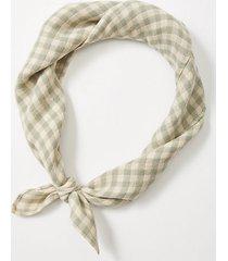 lou & grey gingham scarf