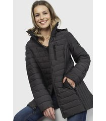 parka nautica gris - calce regular