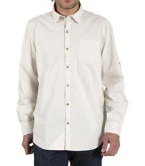 camisa algodón orgánico hombre galiton crudo rockford